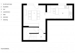 00_Casa Norbi - site - plan demisol